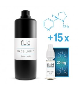 fluid Base MixPack 1L, 3 mg/ml, VPG 50-50